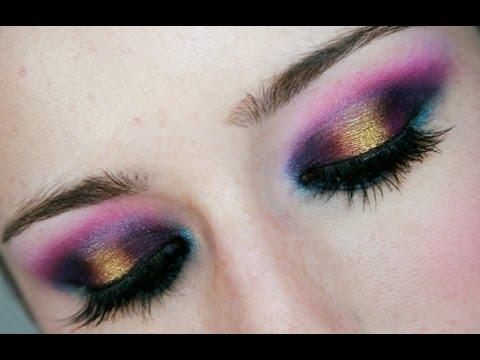 Maquillaje colorido | Loving Sugarpill :)