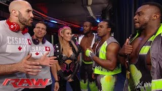 getlinkyoutube.com-Tyson Kidd & Cesaro confront The New Day: Raw, May 4, 2015
