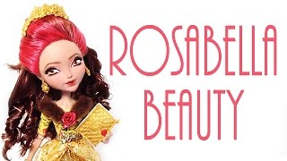 getlinkyoutube.com-Rosabella Beauty Doll Repaint [EVER AFTER HIGH]