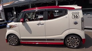 getlinkyoutube.com-Ⓚ Kei car MUGEN HONDA N-BOX SLASH   無限 ホンダ N- BOX スラッシュ  軽自動車