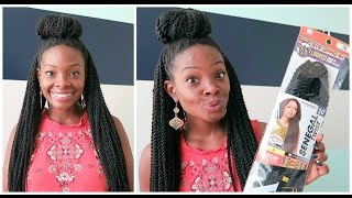 getlinkyoutube.com-Crochet Senegalese Twists | Install & Experience