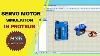 Arduino + Servo motor simulation using Proteus