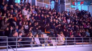 getlinkyoutube.com-Peroline OJARDIAS / Michael BRAMANTE FD  CHAMPIONNAT DE FRANCE ELITE 2015
