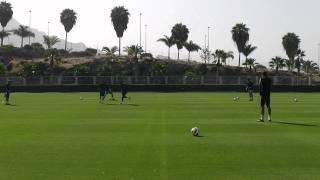 Passing & Moving Drill - TFP Pre Season Football Camp
