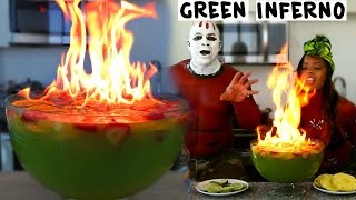 getlinkyoutube.com-The Green Inferno - Tipsy Bartender