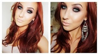 getlinkyoutube.com-Jennifer Lopez Golden Globe 2015 Inspired Makeup Tutorial | Jaclyn Hill