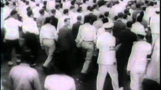 getlinkyoutube.com-King George Reviews American Troops In Africa (1943)