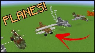 getlinkyoutube.com-10+ Minecraft Aircraft Designs!