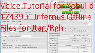 getlinkyoutube.com-Voice Tutorial for Xebuild 17489 +  Infernus Offline Files for Jtag/Rgh