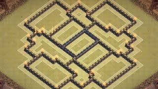 getlinkyoutube.com-Clash of clans - TH8 Best War Base [Town hall 8 Anti Hog/Anti Dragon/Anti Gowipe]