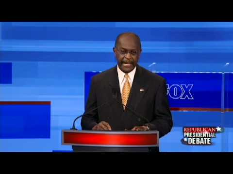 Herman Cain Explains the Fair Tax