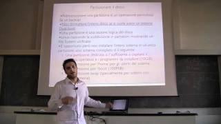 Corsi GNU/Linux - Amministrazione di sistema - Prima Lezione 1/3