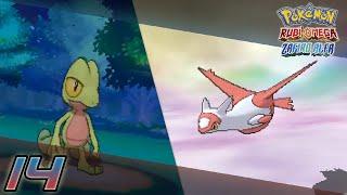 getlinkyoutube.com-Pokémon Rubí Omega / Zafiro Alfa Capítulo 14 - Tratando de encontrar a Latias / Treecko Shiny