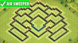 "getlinkyoutube.com-Clash Of Clans ""NEW UPDATE!"" TH9 War Base / CoC TH9 Trophy Base! (BEST Town Hall 9 Defence 2015)"