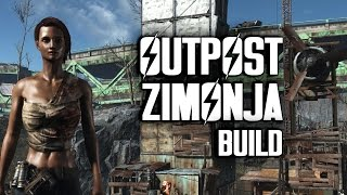 getlinkyoutube.com-Outpost Zimonja Efficiency Build - Fallout 4 Settlements