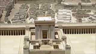 דגם בית שני במוזיאון ישראל Jerusalem in second temple period 2014