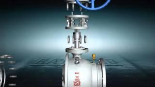 getlinkyoutube.com-Trunnion ball valve