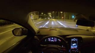 getlinkyoutube.com-Renault Talisman Initiale Paris 200 HP - night POV drive SPORT MODE