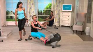 getlinkyoutube.com-Stamina Air Rower 1399 Wind Resistance Rowing Machine with Kerstin Lindquist