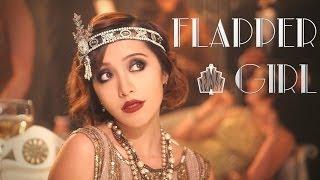 getlinkyoutube.com-Gatsby 1920s Flapper Girl