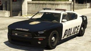 getlinkyoutube.com-GTA V - how to get Police Buffalo Cruiser Rare car