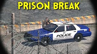 getlinkyoutube.com-PRISON BREAK! - Arma 3: Life - Ep.4