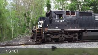 getlinkyoutube.com-Norfolk Southern Train Catches Fire