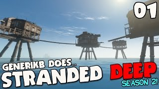 "getlinkyoutube.com-Stranded Deep Gameplay S02E01 - ""SEA FORTRESS! NEW UPDATE! NEW SEASON!!!"""