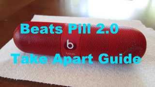 getlinkyoutube.com-Beats Pill 2.0 Take Apart Disassembly Guide
