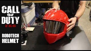 getlinkyoutube.com-Exo Sponsors: Robotech Helmet Upgrade