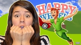 getlinkyoutube.com-MATE A PETER PAN EN HAPPY WHEELS | LESSLIE | JUXIIS | JUXIS PLATICA POLINESIA