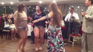 getlinkyoutube.com-SEXY EGYPTIAN GIRL...BELLY DANCING IN A CRUISE SHIP AT RED SEA