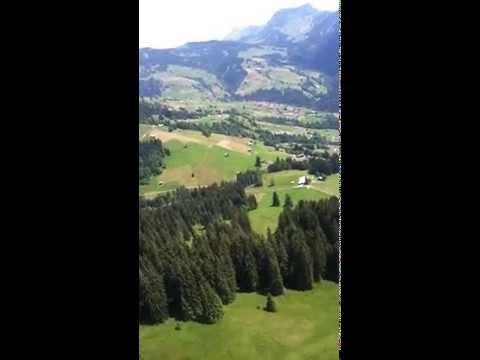 Paragliding in interlaken swizerland