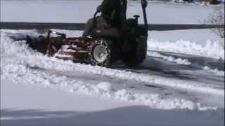 getlinkyoutube.com-Zero Turn Snow plow