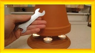 download video egloo candle powered heater. Black Bedroom Furniture Sets. Home Design Ideas