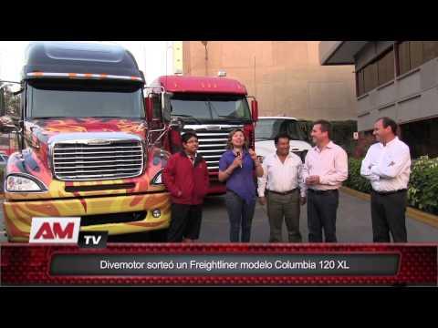 Divemotor sorteó un Freightliner modelo Columbia 120 XL