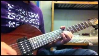 getlinkyoutube.com-ステレオポニー「はんぶんこ」【OVER THE BORDER】(guitar cover)