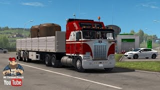 getlinkyoutube.com-[ETS2 v1.26] Kenworth K100 + Cabin DLC ready