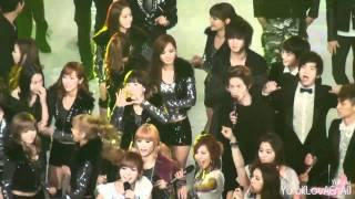 [Fancam] SNSD ::101230 2010 KBS Music Festival - DJ DOC
