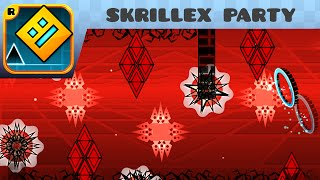getlinkyoutube.com-Geometry Dash - Skrillex Party (Very Easy Demon) - by Nether