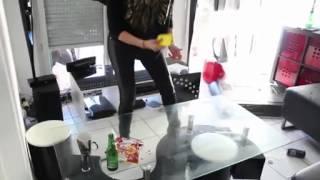 getlinkyoutube.com-Girlfriend Smashes BF's stuff Worth $10,000