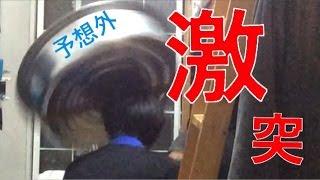 getlinkyoutube.com-【お年玉】タライを頭上から落としたら奇跡がおきた!!!!!!!!
