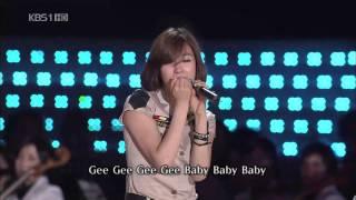 getlinkyoutube.com-[소녀시대 Classic][20090802] Girls' Generation _少女時代_Tell me your wish+Gee [KBS Open Concert][Live][HD]