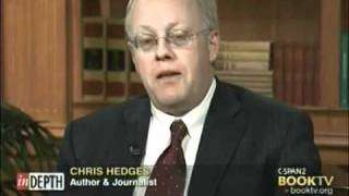 "getlinkyoutube.com-Chris Hedges "" The World as it is !"" Politics Religion Wars War Crimes"