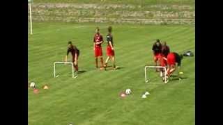Vídeo sesiones de entrenamiento de fútbol