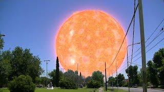 getlinkyoutube.com-Cómo se verían algunas estrellas si estuvieran en lugar del Sol