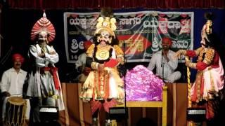 Yakshagana 2016-Haasya 02-Sri Ramesh Bhandari as Daaruka