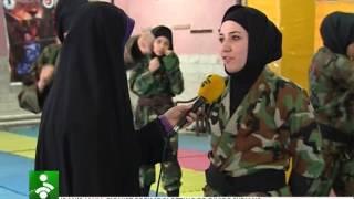 getlinkyoutube.com-Ninja Ranger Iran (girl's)