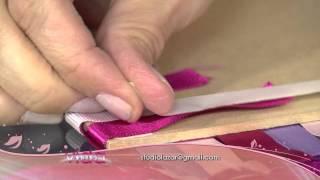 getlinkyoutube.com-Aprenda a fazer um caderno de receitas com capa personalizada com fitas!