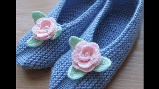 getlinkyoutube.com-Очень современные и красивые носки тапочки